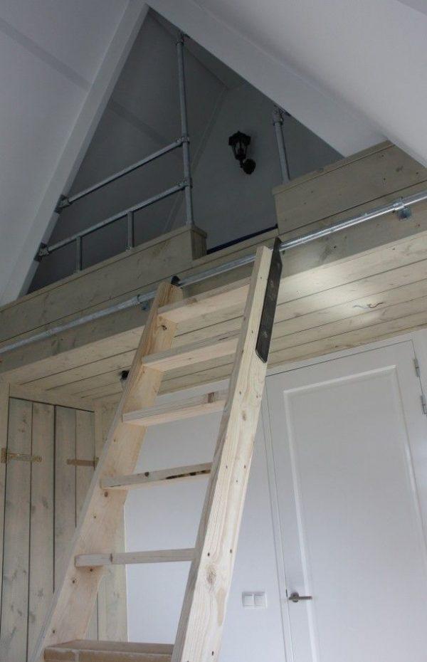 Klein wonen met vide thestylebox - Bed kamer mezzanine ...
