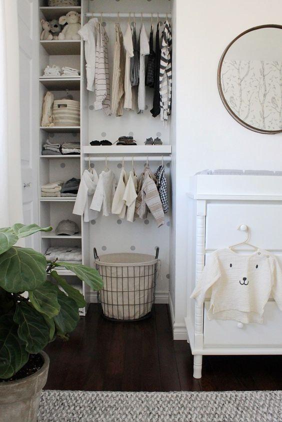 Kleine babykamer meubels