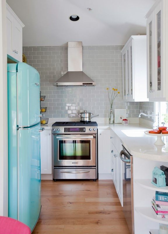 Keuken Ideeen Kleine Keuken : Small Kitchen Design Concepts