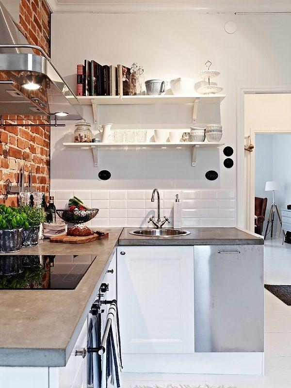 Kleine keuken thestylebox for Kleine keukens fotos