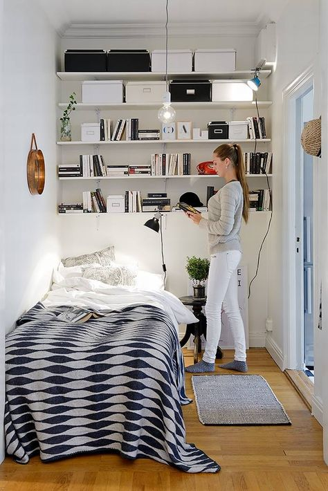 Uitgelezene Kleine slaapkamer ideeën - THESTYLEBOX JL-79