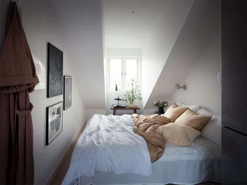 kleine slaapkamer decoratie