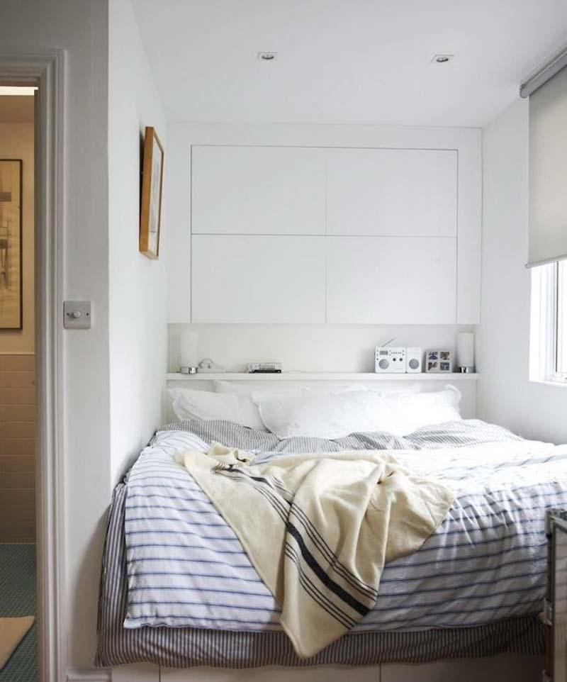 kleine slaapkamer kast op maat