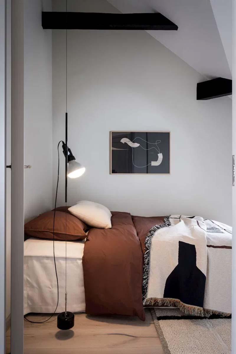 kleine slaapkamer verlichting