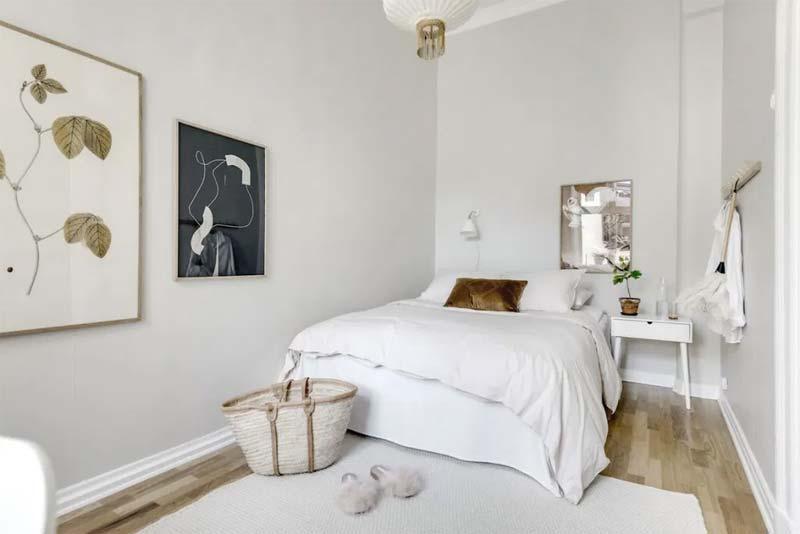 kleine slaapkamer wanddecoratie