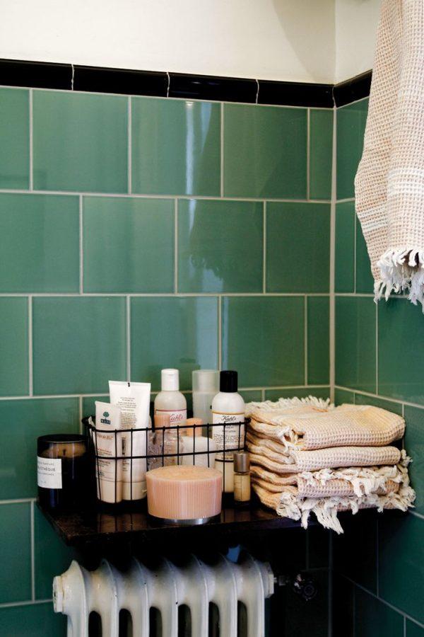 Kleur in de badkamer - THESTYLEBOX