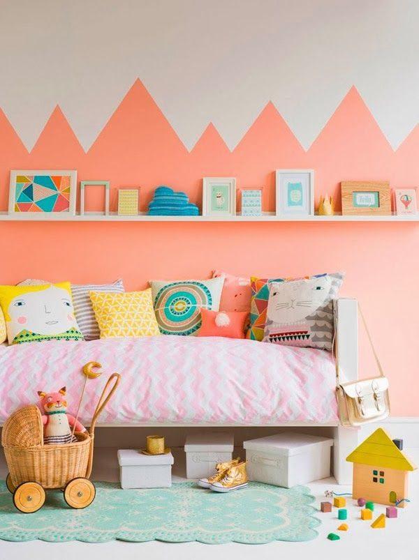 kleurrijke kinderkamer thestylebox