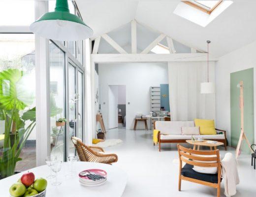 kleurrijk huis woonkamer