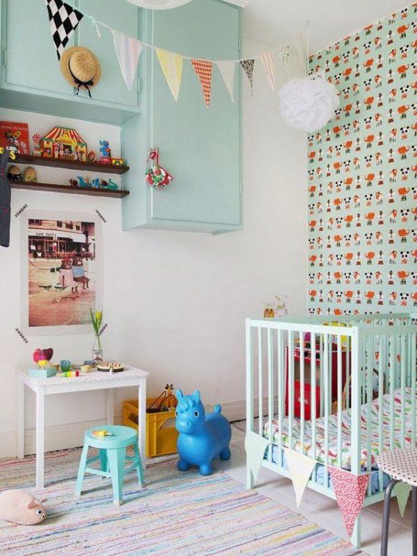 kleurrijke kinderkamer - thestylebox, Deco ideeën