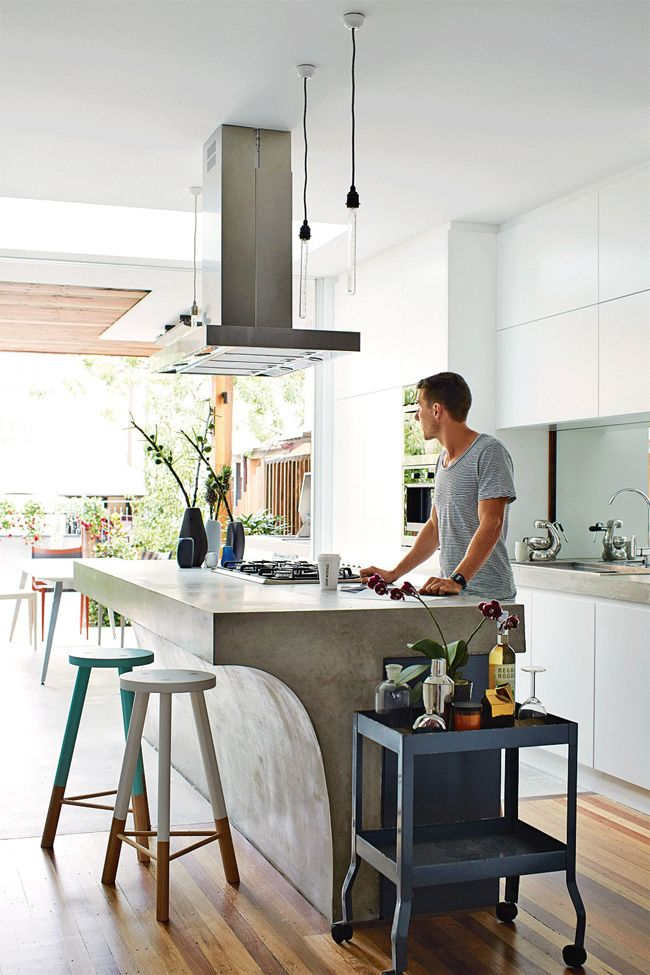 Beton in de keuken   thestylebox