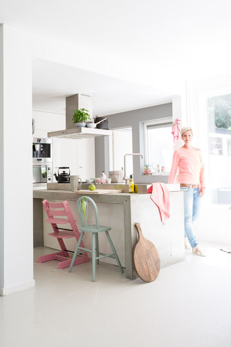 Beton in de keuken - THESTYLEBOX