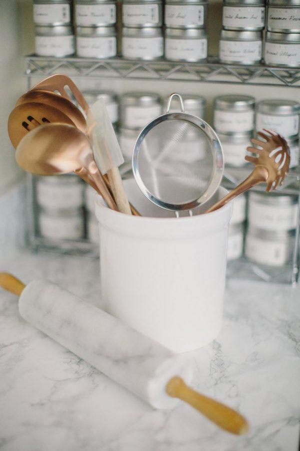 Koper in de keuken   thestylebox