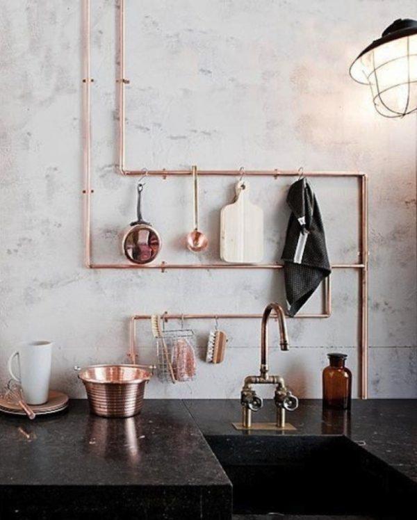 Koper in de keuken - THESTYLEBOX
