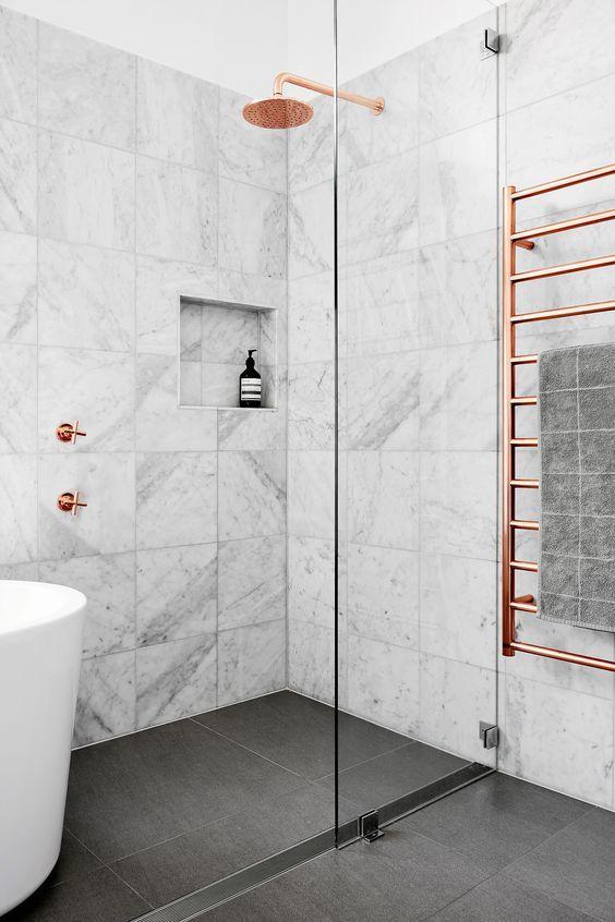 koperen radiator badkamer-2