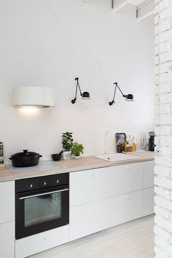Witte keukenkraan   thestylebox