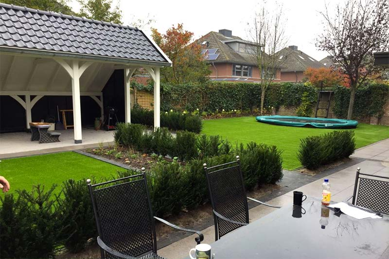 kunstgras kindvriendelijke tuin