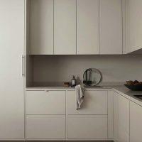kunststof keukenwerkblad taupe keuken