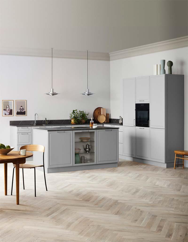 Ben je een liefhebber van klassiek design, maar ook wel een moderne look wilt? Dan is de Kvik Pavia keuken een hele mooie optie!