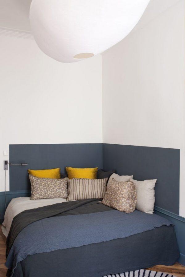 lambrisering slaapkamer