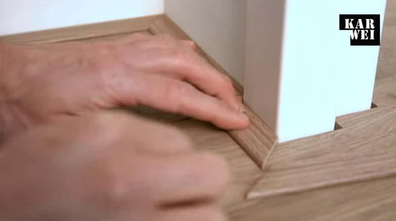 laminaat leggen handleiding plinten