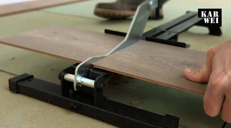laminaat leggen handleiding snijden