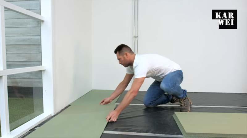 laminaat leggen ondervloer