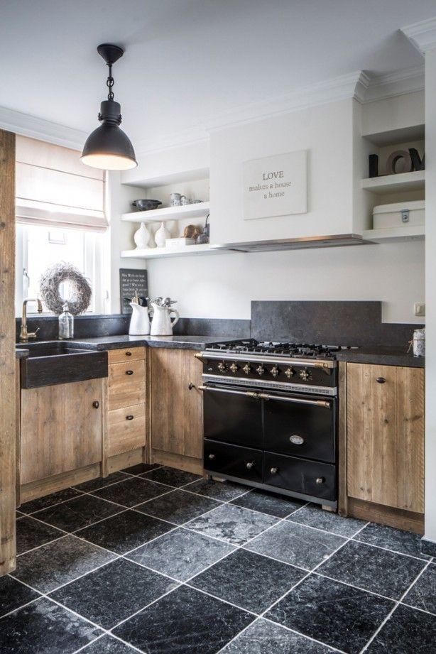 Houten Keuken Ideeen : Landelijk wonen THESTYLEBOX