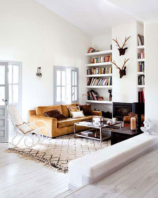 Landelijke woonkamer - THESTYLEBOX