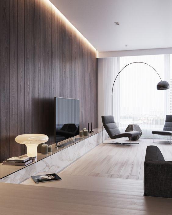 Lange TV meubel