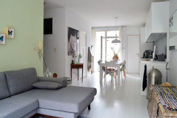 licht appartement amsterdam overnachten