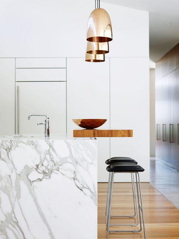 licht marmeren keuken