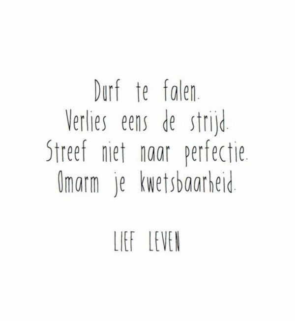lief leven quote