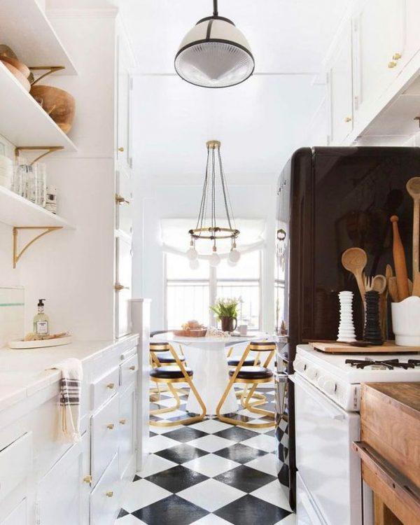 linoleum vloer keuken