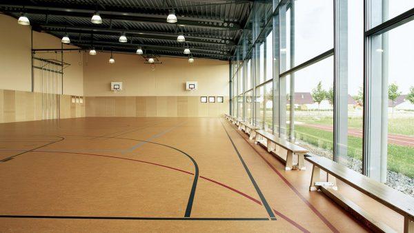 linoleum vloer sportzaal