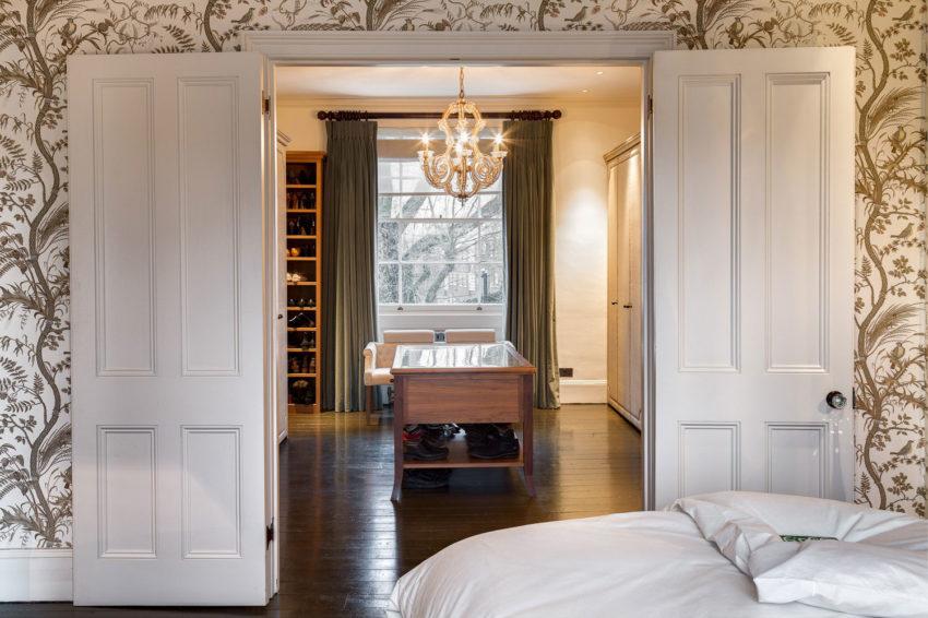 luxe inloopkast in slaapkamer