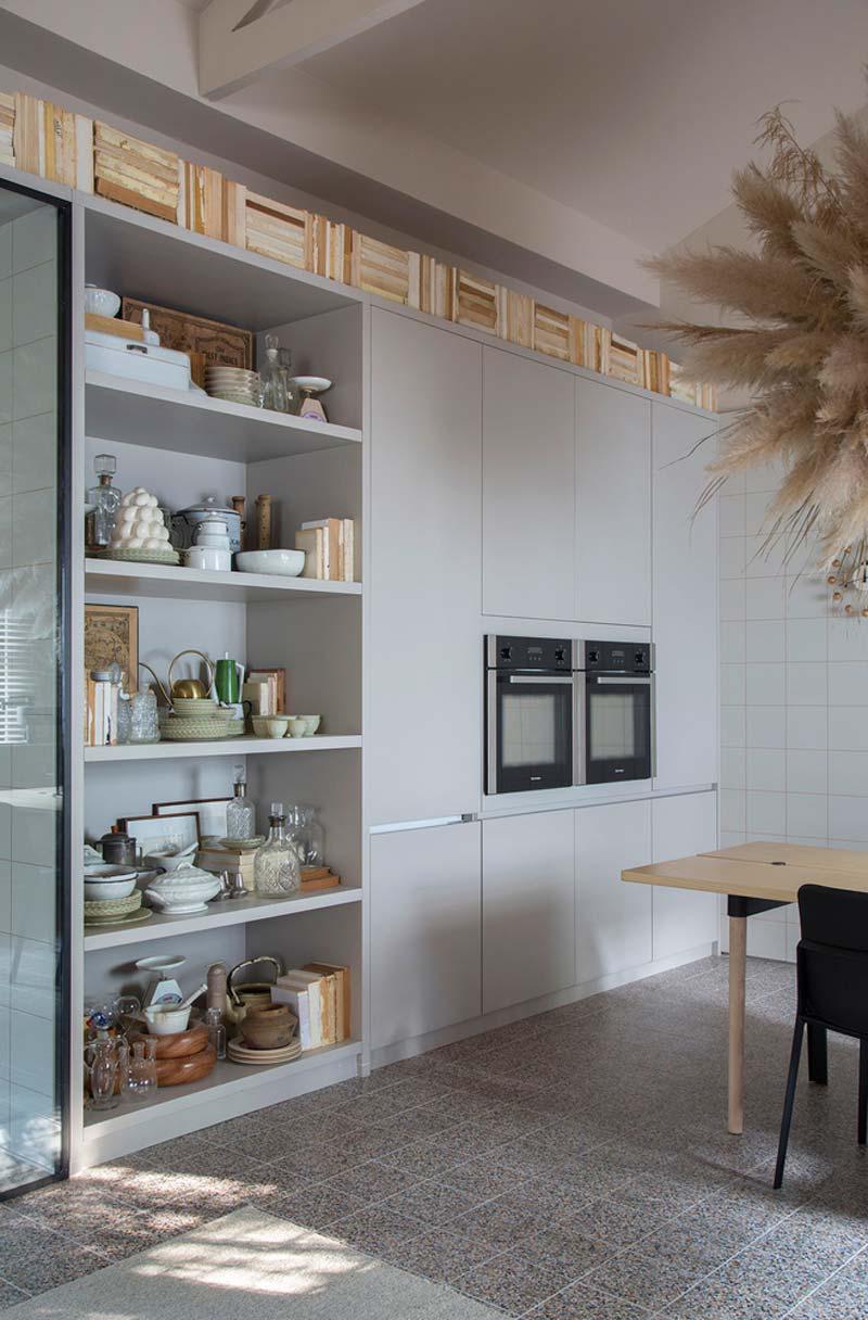 maatkast moderne keuken