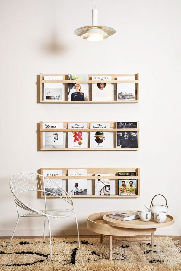 magazines opbergen