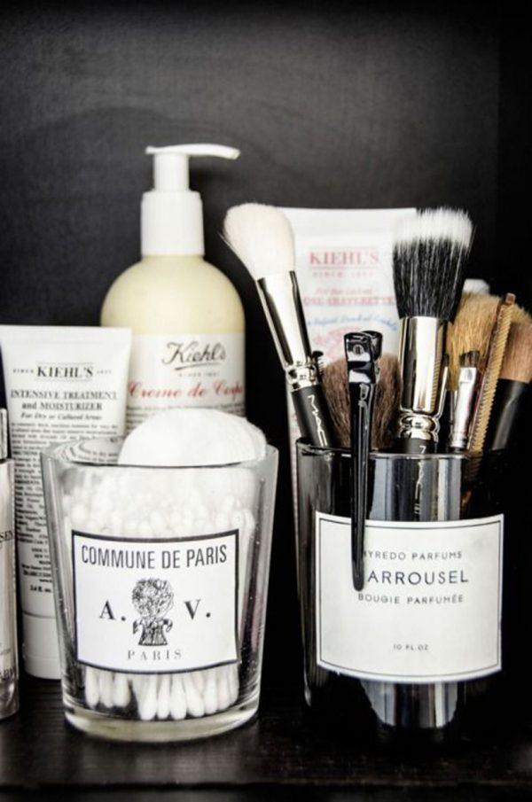 makeup opbergen