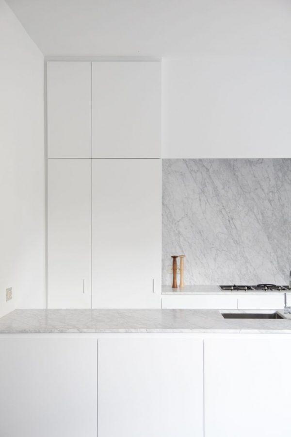 Keuken wit marmer inspiratie het beste interieur - Keuken wit marmer ...