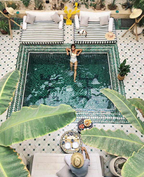 marokkaans zwembad