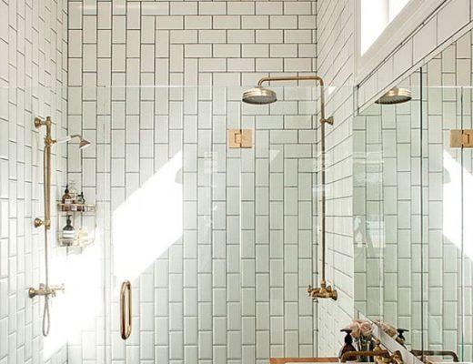 Ladder in de badkamer - THESTYLEBOX