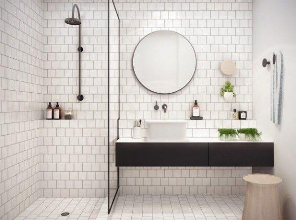 metrotegels kleine badkamer
