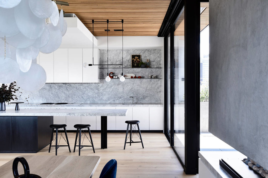 Modern luxe familie penthouse appartement