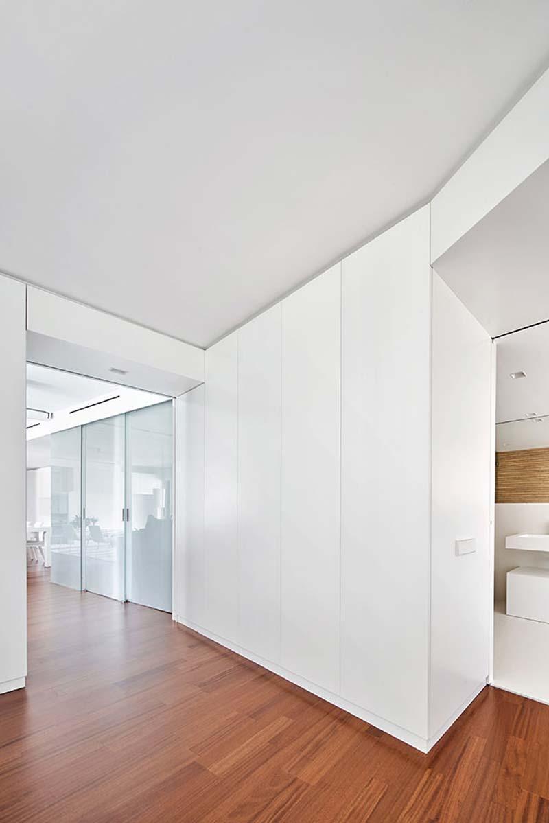 moderne slaapkamer inbouwkasten