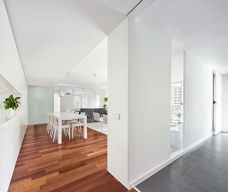 moderne woonkamer open hal