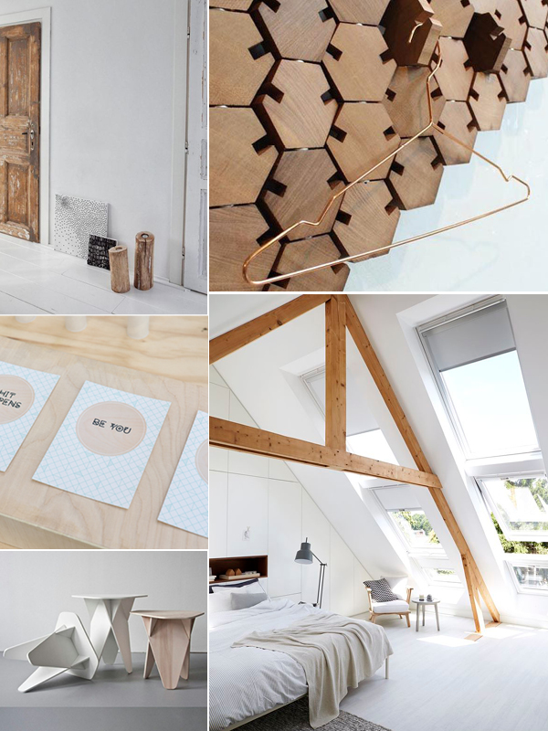 Moodboard hout in het interieur thestylebox for Interieur hout