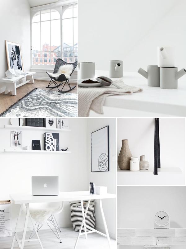 Moodboard: zwart-wit wonen - THESTYLEBOX