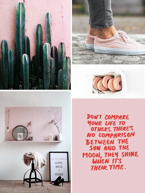 moodboard thestylebox pink roze