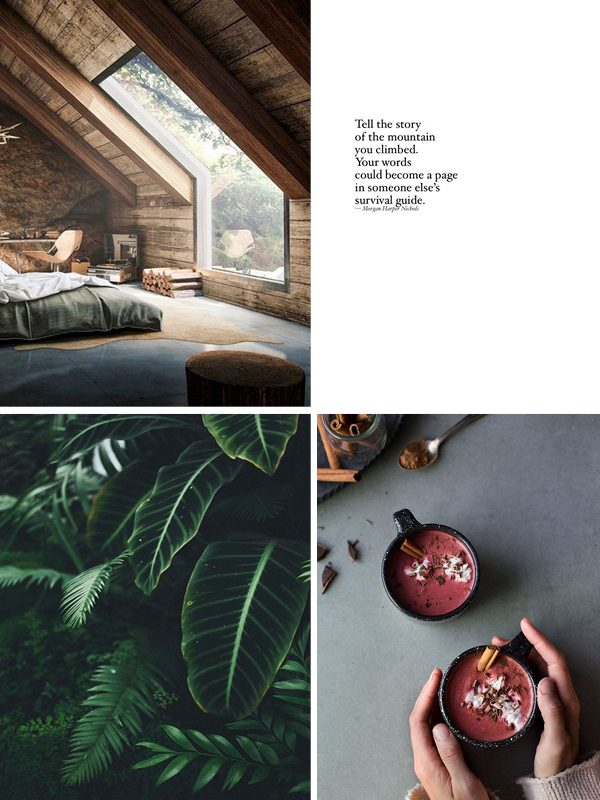 moodboard thestylebox warmte