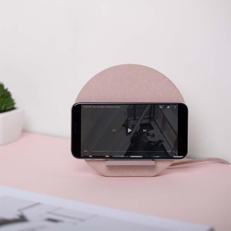 mooie draadloze telefoonlader dock